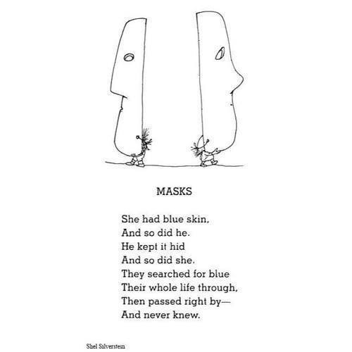 Summary of poem |Hiding Behind The Mask Poem
