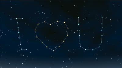 stock-footage-romantic-stars-twinkle-in-the-night-sky-twinkling-stars-form-i-love-you
