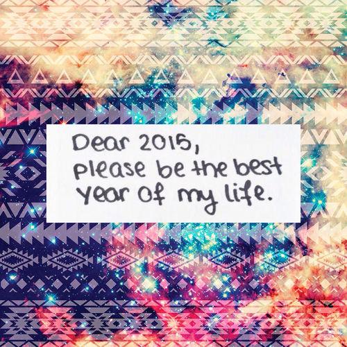 Dear 2015 pic
