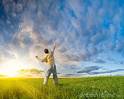 man-rising-up-hand-11098229