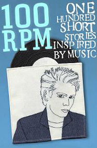 Cover of 100 RPM: One Hundred Short Stories Inspired by Music